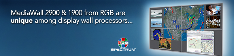 MediaWall® 2900/1900 processors from RGB Spectrum